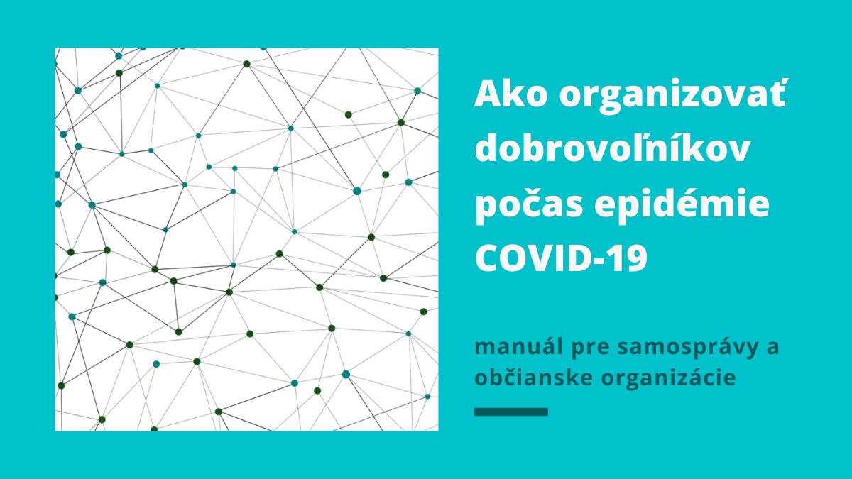 ako organizovat dobrovolnikov covid